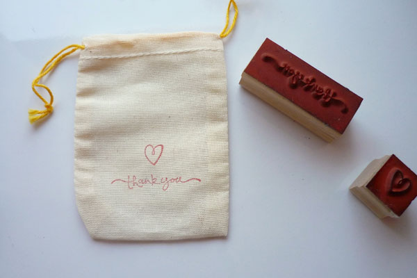 bag and stamp
