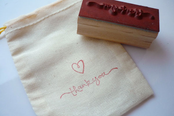 stamped bag