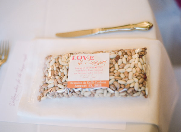 bean soup mix wedding favors