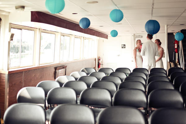 Casco Bay Ferry wedding ceremony