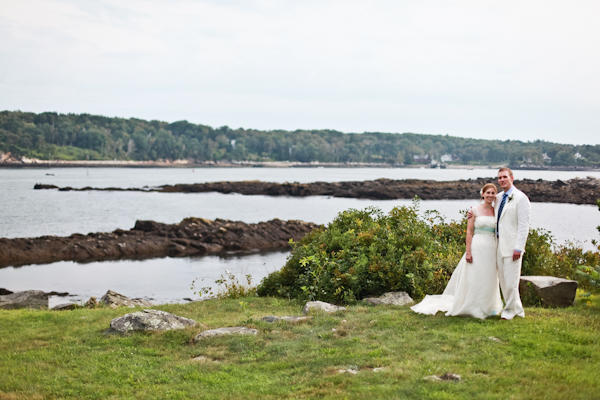 Maine wedding portrait