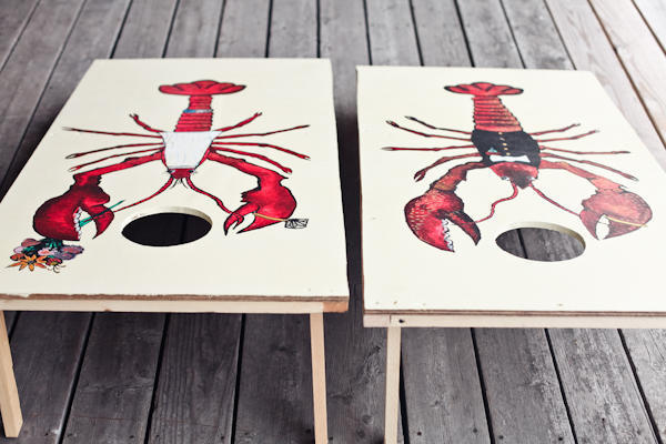 lobster themed wedding games