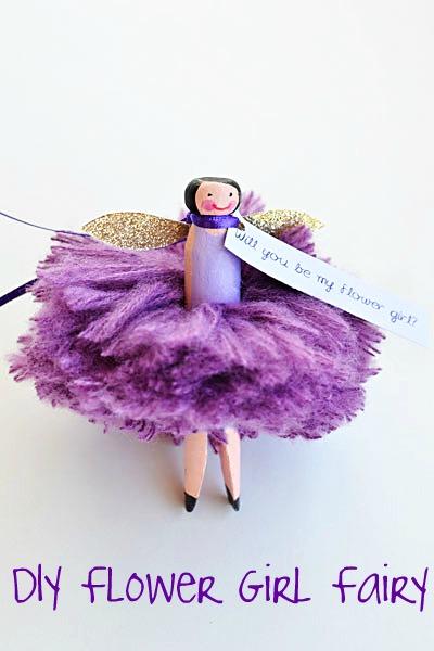 flower girl doll