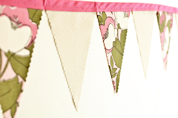 hot pink bunting