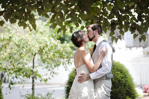 Intimate New Jersey Inn wedding