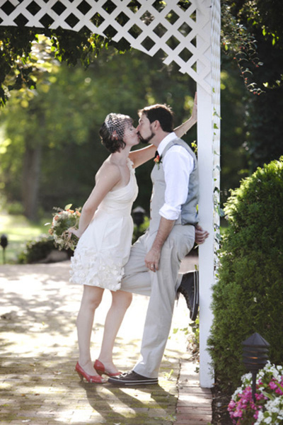 Romantic New Jersey Inn wedding