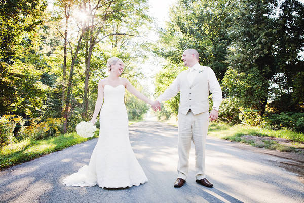 Rustic Michigan Barn Wedding