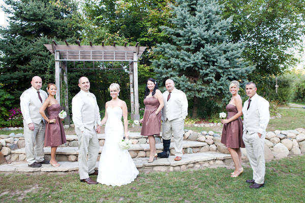 bridal party portrait