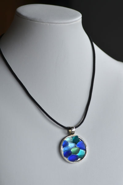 sea glass blue