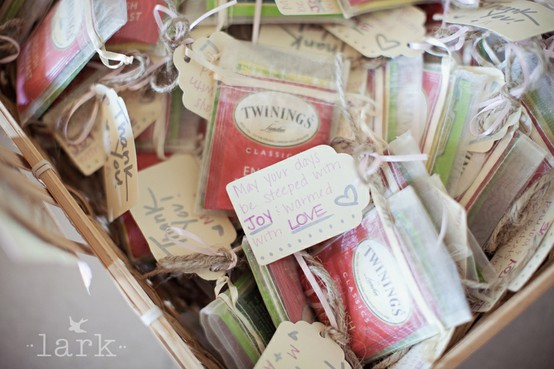 tea bag favors