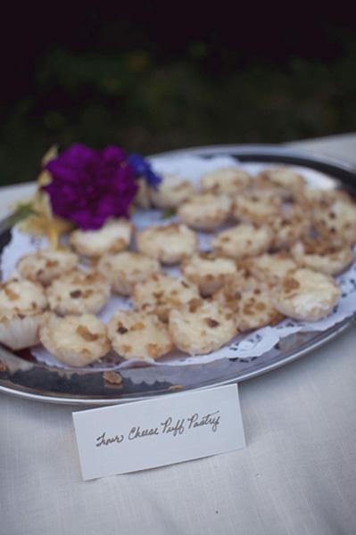 wedding cheese puffs