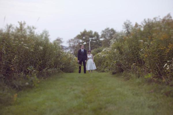 Victorian farmhouse wedding