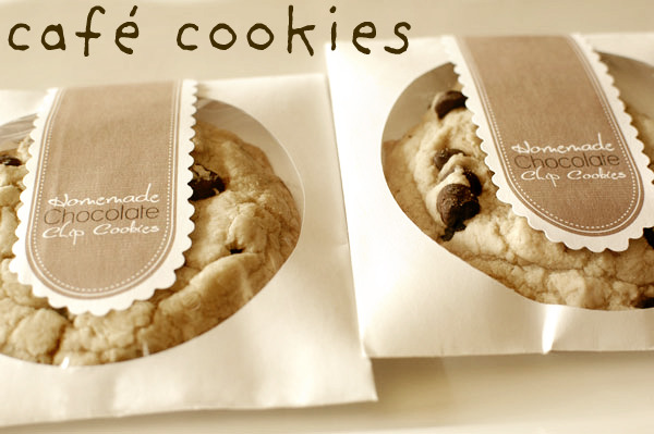 chocolate chip cookies cd sleeves