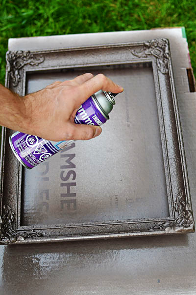 diy painted frame