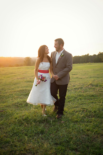 Arkansas ranch wedding