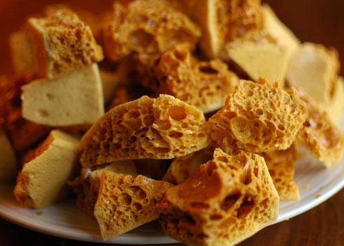 sponge taffy