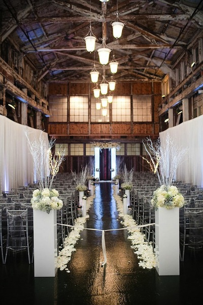 Getting Married Against The Back Wall Of A Barn Can Be Gorgeous Too I Especially Love Strung Lights