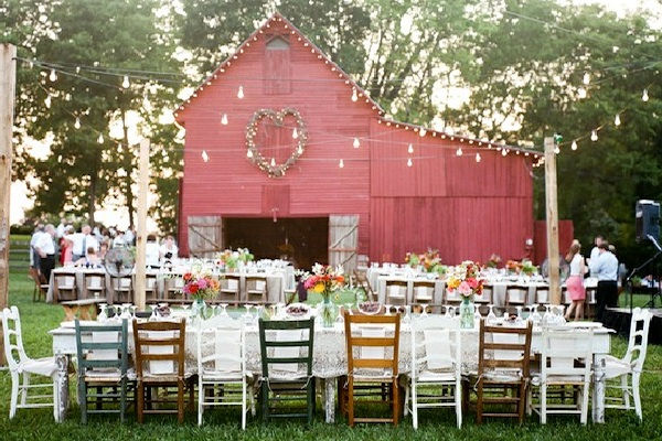 Whether You Choose To Have Your Reception Inside Or Outside A Barn Is Perfect Location For An Intimate Affair Enjoying Good Food And Company