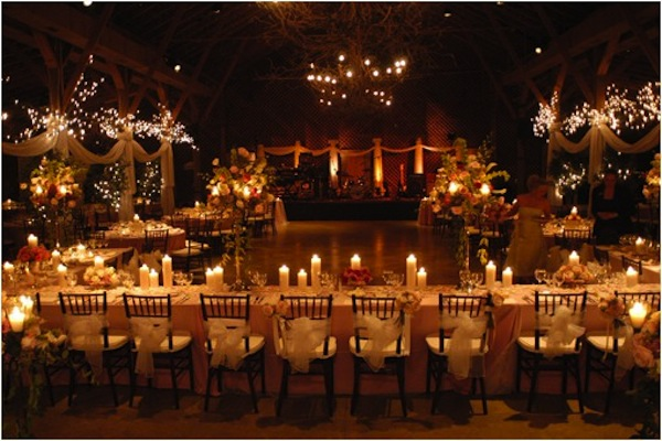 Barn Weddings Reception Seating