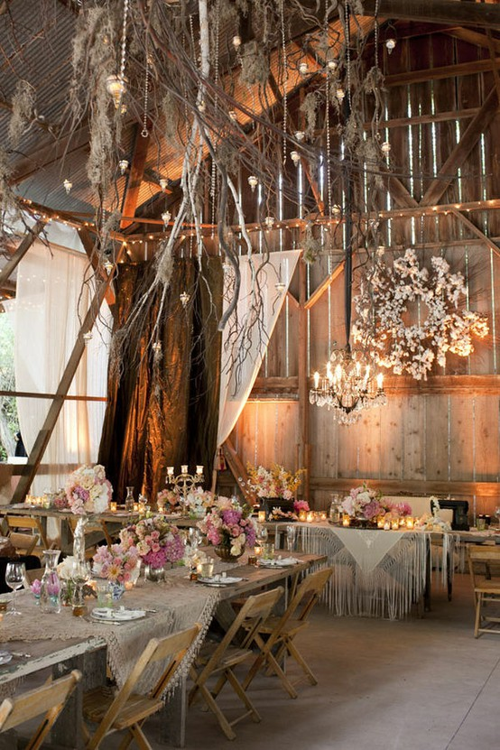 Barn Wedding Decorations