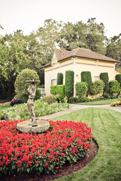 Madrona Manor gardens