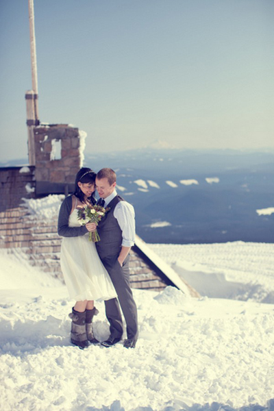 Oregon Lodge wedding