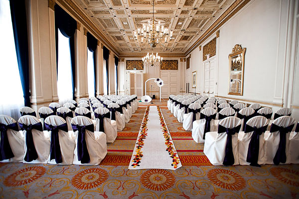 Sir Francis Drake Hotel wedding venue