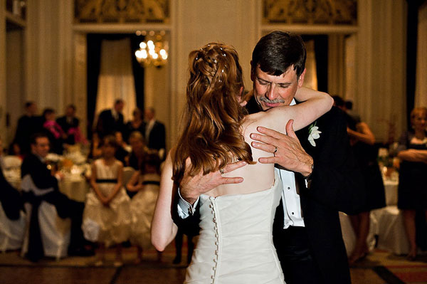 father and bride dance