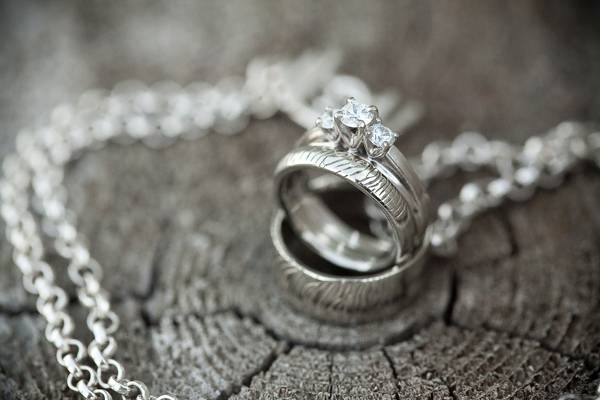 custom designed wedding rings