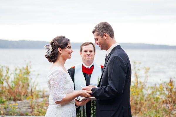 Cama Beach Wedding Ceremony