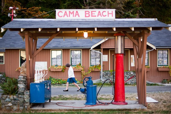 Cama beach pump station