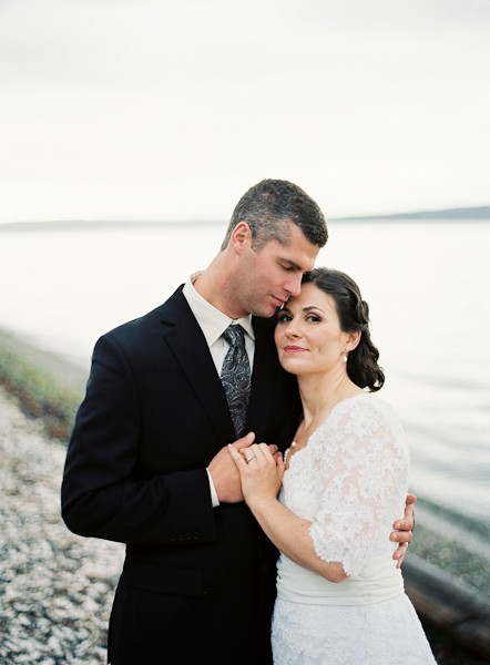 Intimate boathouse wedding