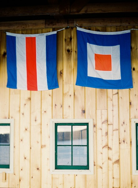 boathouse flags