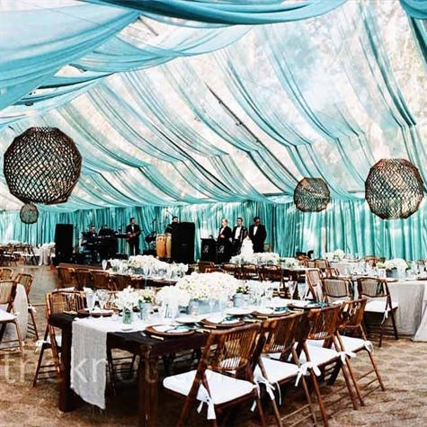 clear tent