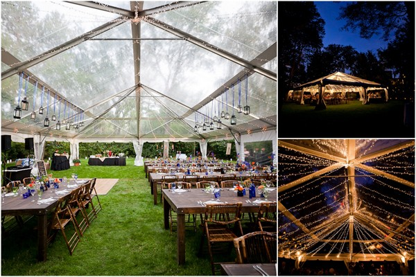 clear tent 7 & Outdoor Wedding Venues: The Clear Tent