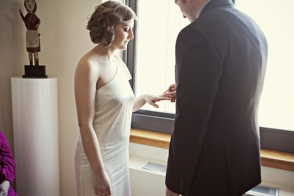 New York apartment wedding