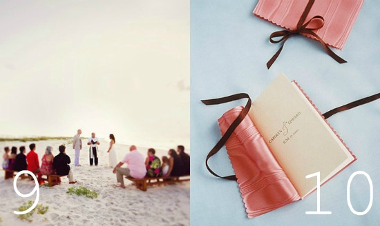 top posts on Intimate Weddings wedding blog