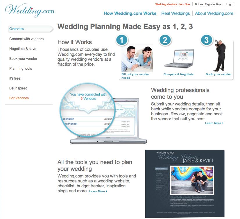 Plan Your Wedding at Wedding com