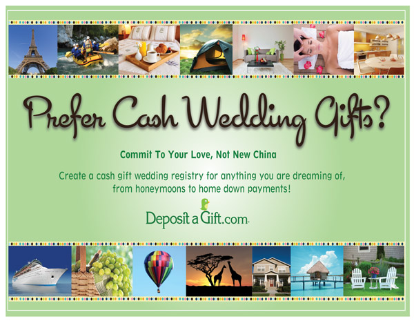Ask for What You Really Want with Deposit a Gift