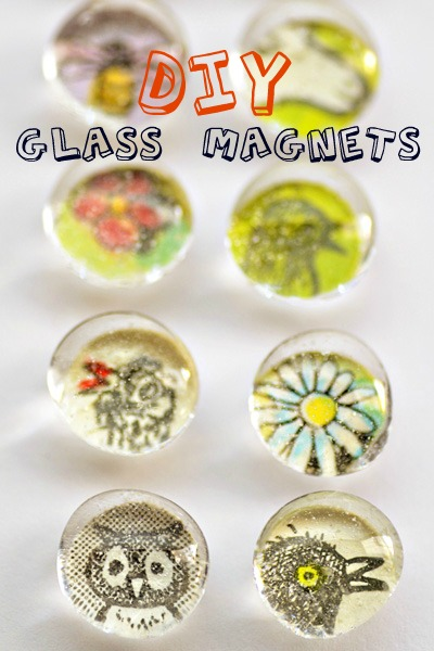 glass bubble magnets