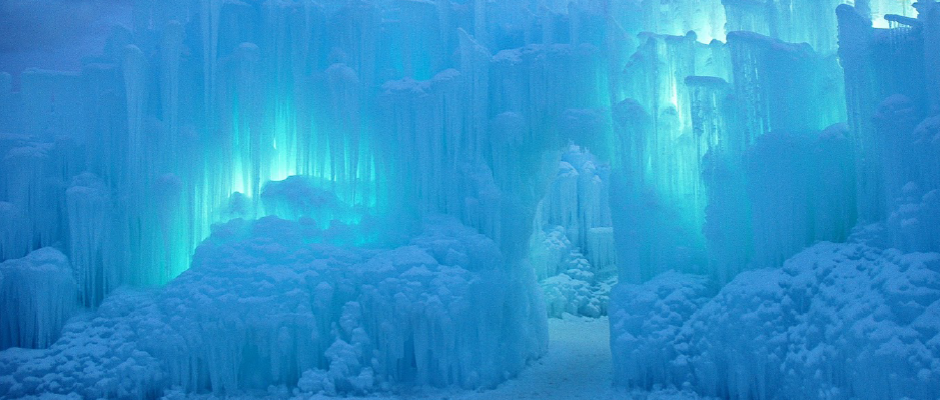 ice castles blue