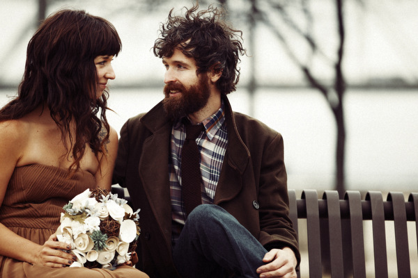 Kentucky hipster elopement