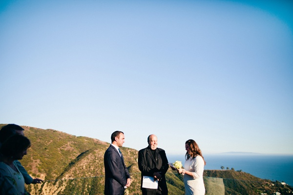 outdoor Malibu wedding