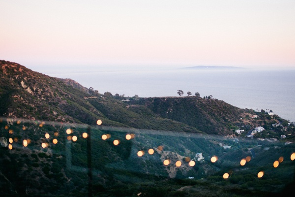 Malibu balcony with twinkle lights