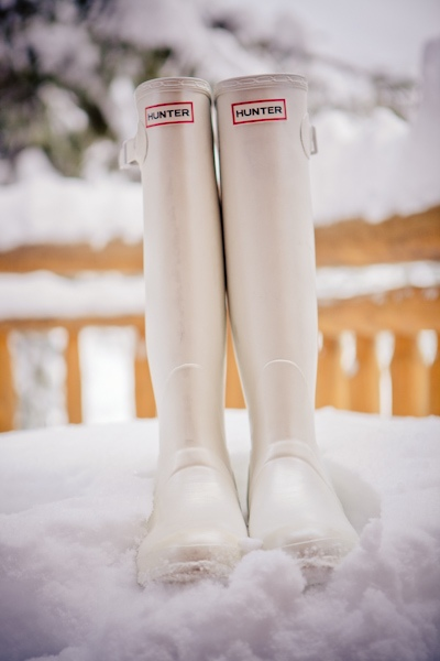 white wellies