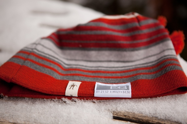 winter wedding hat