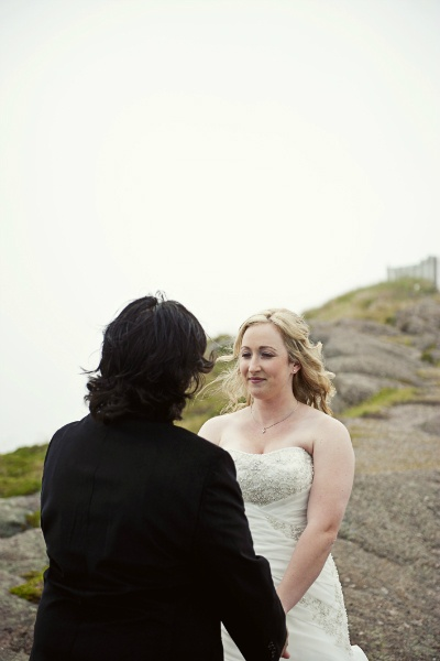 seaside elopement ceremony