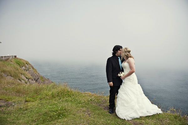 intimate Newfoundland wedding