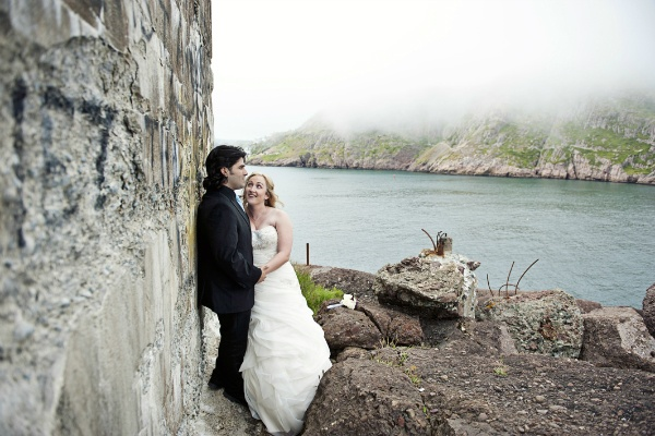 Newfoundland lighthouse elopement