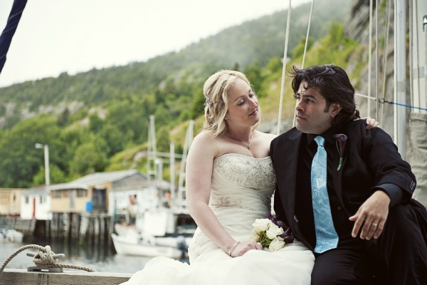 Newfoundland seaside elopement